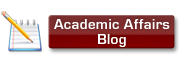 Academic Affairs Blog button