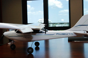 photo of drone aircraft
