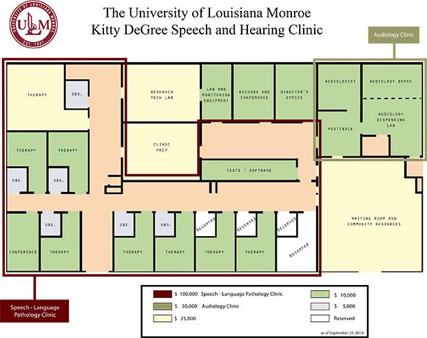 Kitty Degree Speech And Hearing Clinic Ulm University Of Louisiana At Monroe