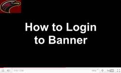 How to login to banner