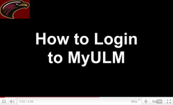 How to login to MyULM