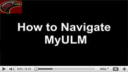 How to navigate MyULM
