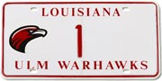 Warhawk License Plate pix