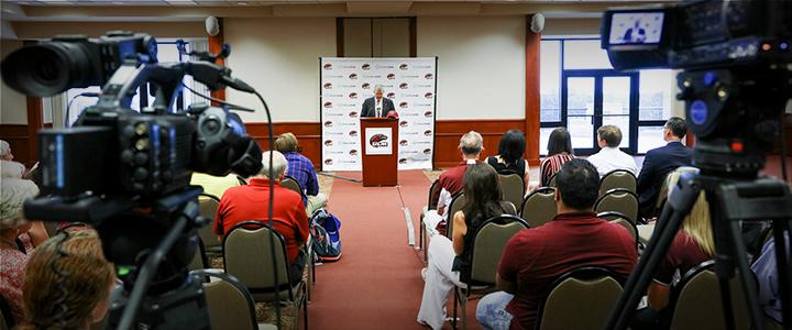 Press Conferences and Events