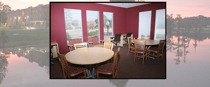 Bayou Suites - Meeting Area