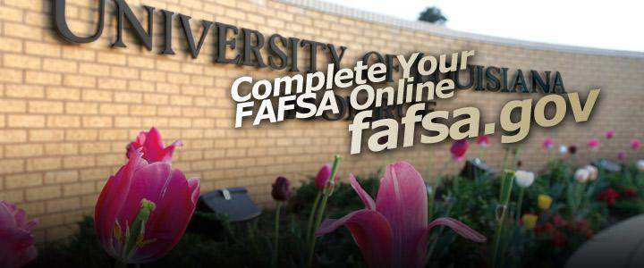 Complete Your FAFSA Online
