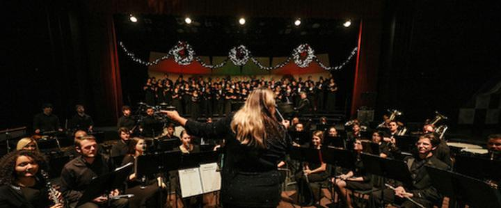 symphony and choral performance