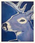 Title: Blue Deer