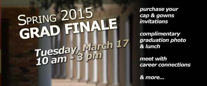Grad Finale Spring 2015