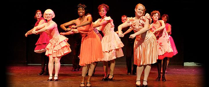 "Scene from 2013 production of ""Guys & Dolls"""
