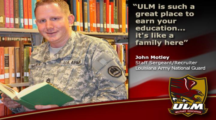 quote ULM is such a great place to earn your education