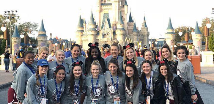 ULM Cheerleader's at Disney