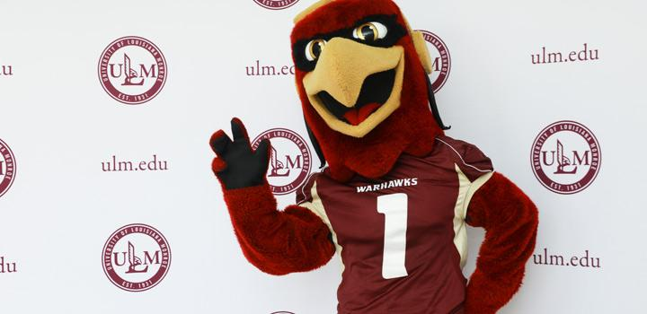 Ace the Warhawk welcomes you with a wave