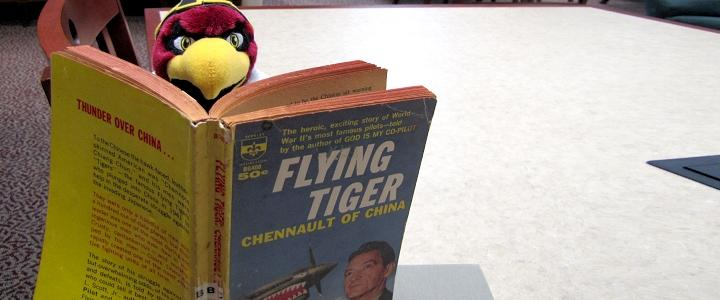 Ace reads about Chennault