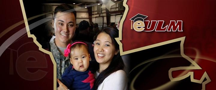 photo of eULM student Danial and family