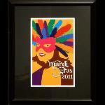 Title: Mardi Gras Poster