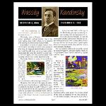 Title: Kandinsky Mag Spread, (page 1)
