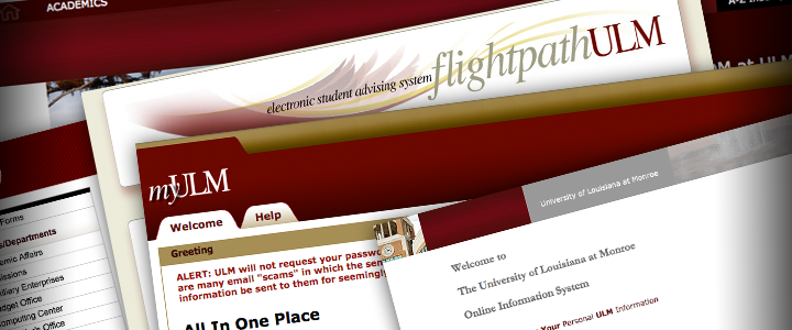 screenshot of web pages