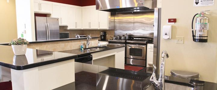 photo of kitchen area