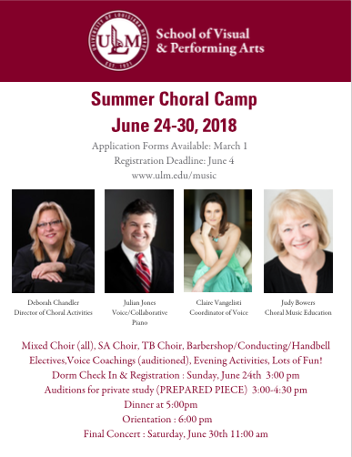 Choral Camp