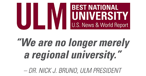 "Dr. Bruno ""We are no longer merely a regional university"""