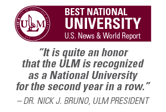 U S  News and World Report: ULM named National University