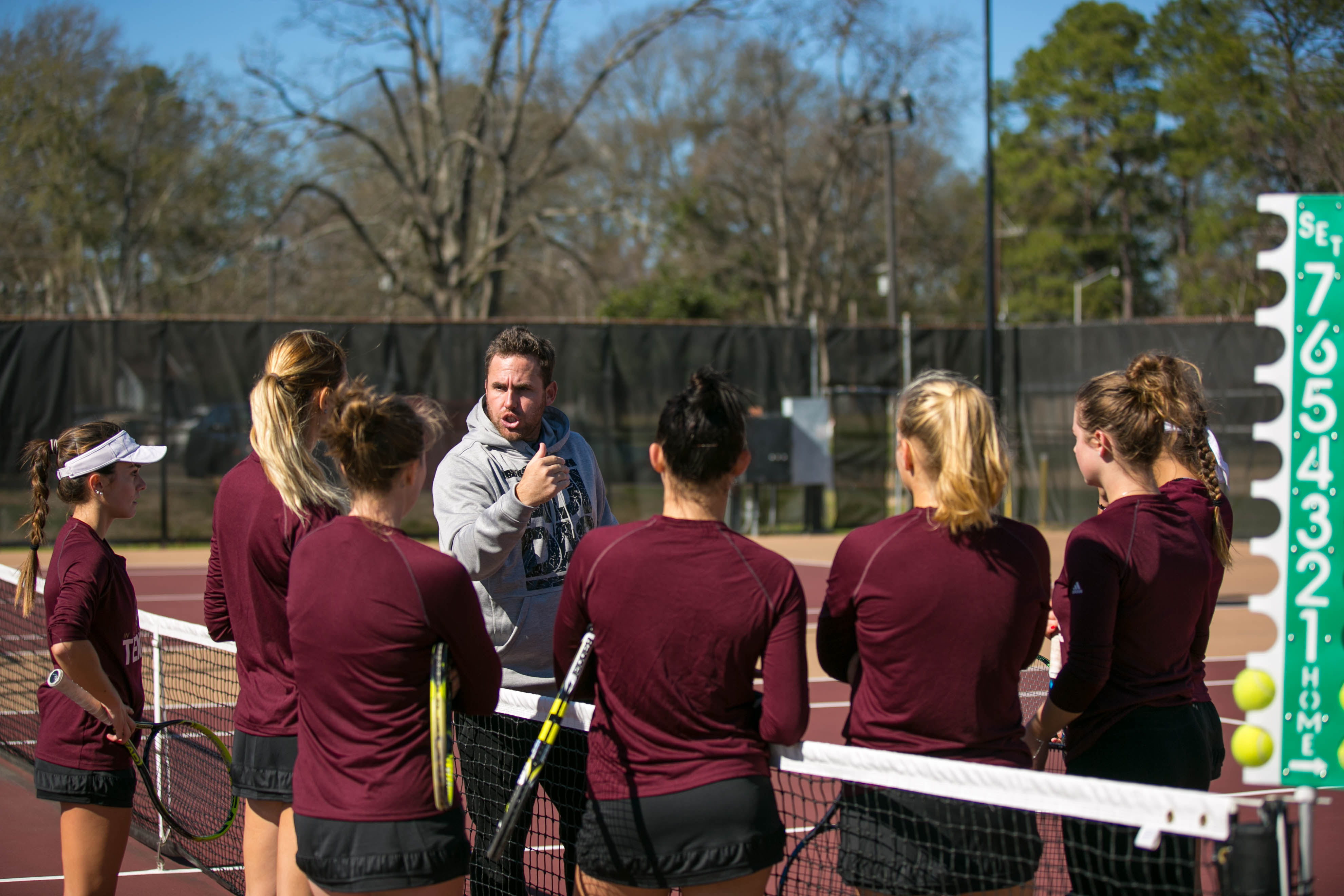 goals set by ulm women s tennis team puts them on the road. Black Bedroom Furniture Sets. Home Design Ideas