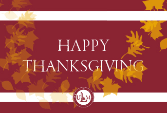 ULM closes at 1 p.m. Wednesday for Thanksgiving holiday