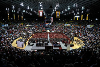ULM Summer/Fall 2019 Commencement is Saturday, Dec. 14 at 10 a.m.