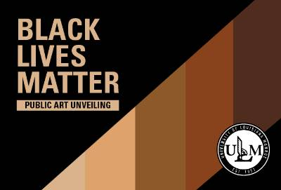 ULM to unveil BLM public artwork on Monday, Jan. 25