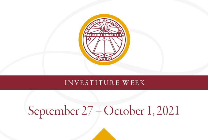 Campus and community: Special events celebrate Investiture and 90th Anniversary, Sept. 27-Oct. 1