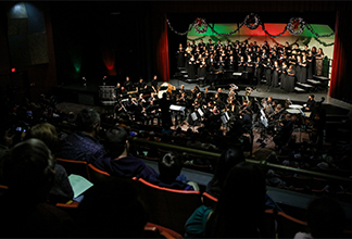 Annual Holidays At ULM Concert Tuesday Nov 27 Brown Theater