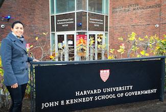 ULM graduate student attends leadership training at Harvard University