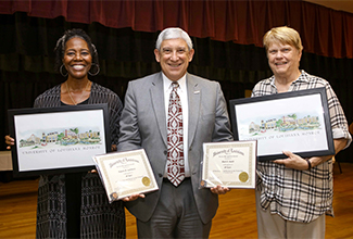 ULM employees honored for years of service