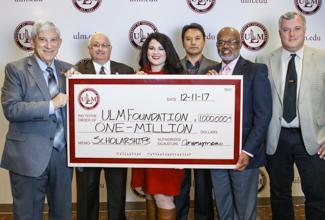University receives 1 million dollar anonymous gift