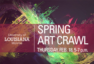 Spring Art Crawl to be hosted on ULM campus