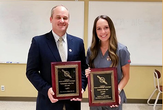 Radiologic Technology faculty, student receive top awards from LSRT