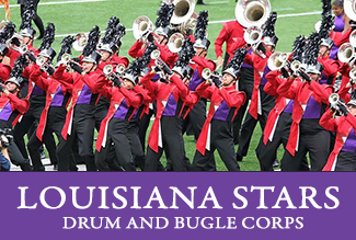 Louisiana Stars Drum and Bugle Corps in residency at ULM