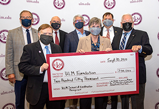 ULM School of Construction Management receives $250K from La. Contractors