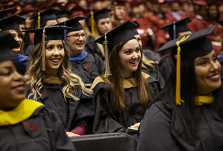 ULM confers degrees at Fall 2017 Commencement Ceremony