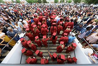 ULM graduates receive diplomas Saturday