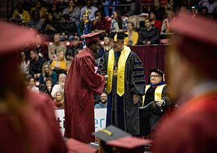 760 ULM students graduate at Saturday Commencement