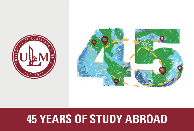 ULM celebrates 45 years of travel abroad