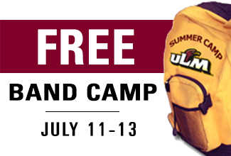 ULM to host free junior high band camp