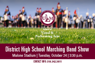District High School Marching Festival at Malone Stadium Tuesday, Oct. 24