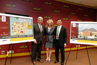 Photo of Nick Bruno, Linda Pruett, and Eric Liew