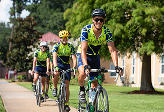 ULM hosts Journey of Hope cyclists for 11th year as team rides cross-country for the disabled