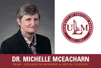 Dr. Michelle McEacharn named Dean of ULM College of Business and Social Sciences