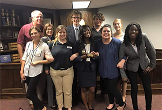 ULM Mock Trial team takes first place in the