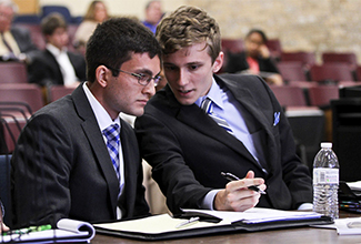 ULM Mock Trial finishes strong in the Hustle City Challenge